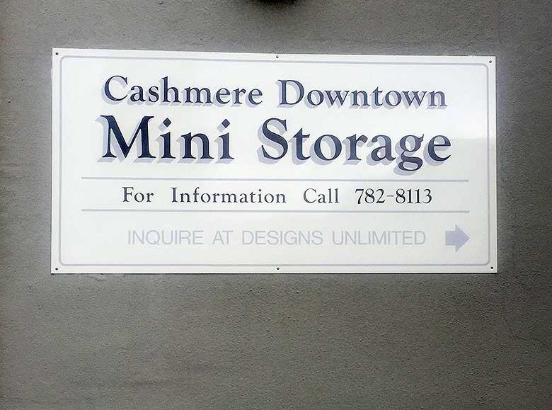 Cashmere Self Storage